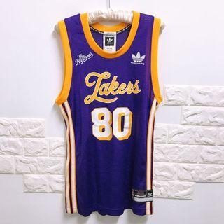 全新)Lakers湖人隊x adidas愛迪達籃球衣S