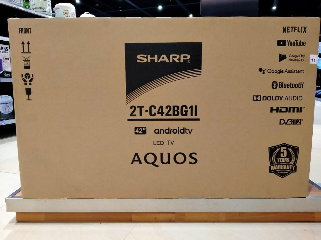 SHARP LED ANDROID TV 42 INCH 2T-C42BG1i