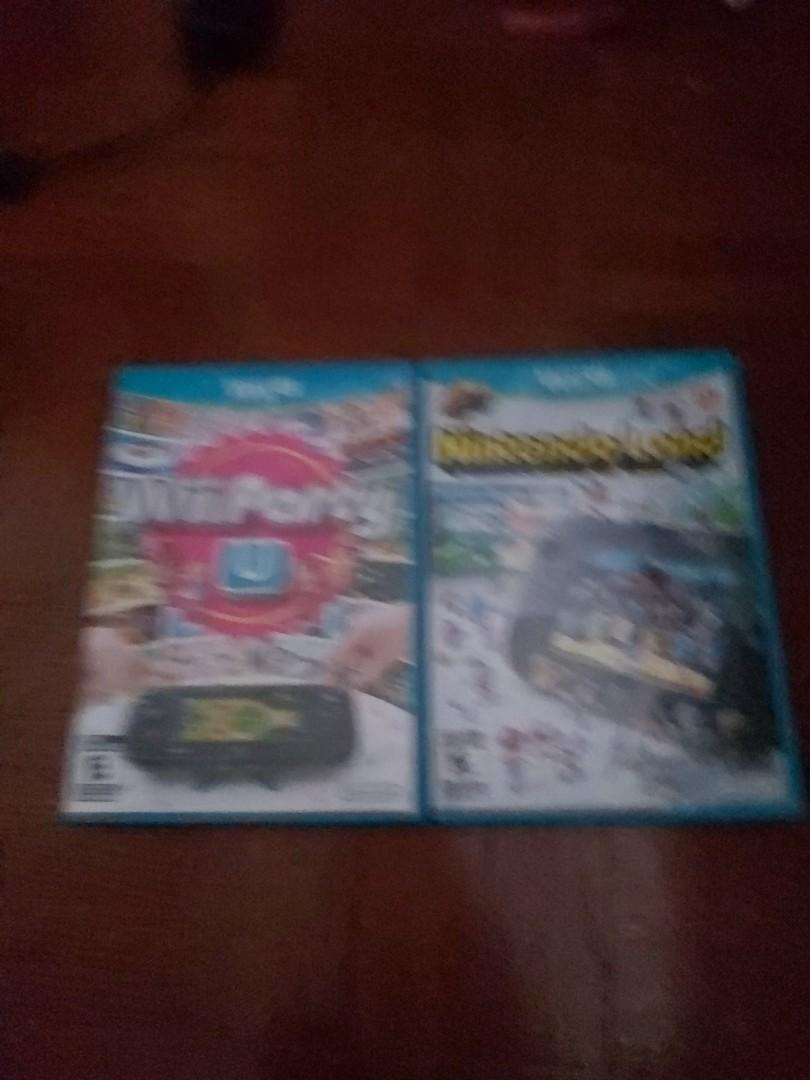 Wii u will party and nintendo land $45 each