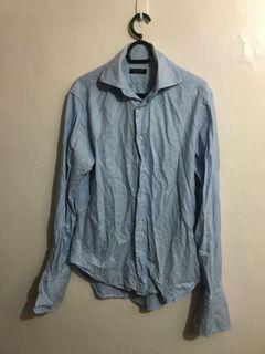 Zara Man Long sleeves Polo
