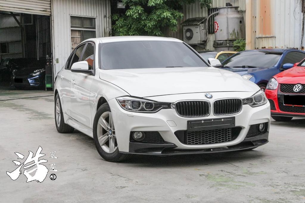 2012年 BMW 318D 改包 白