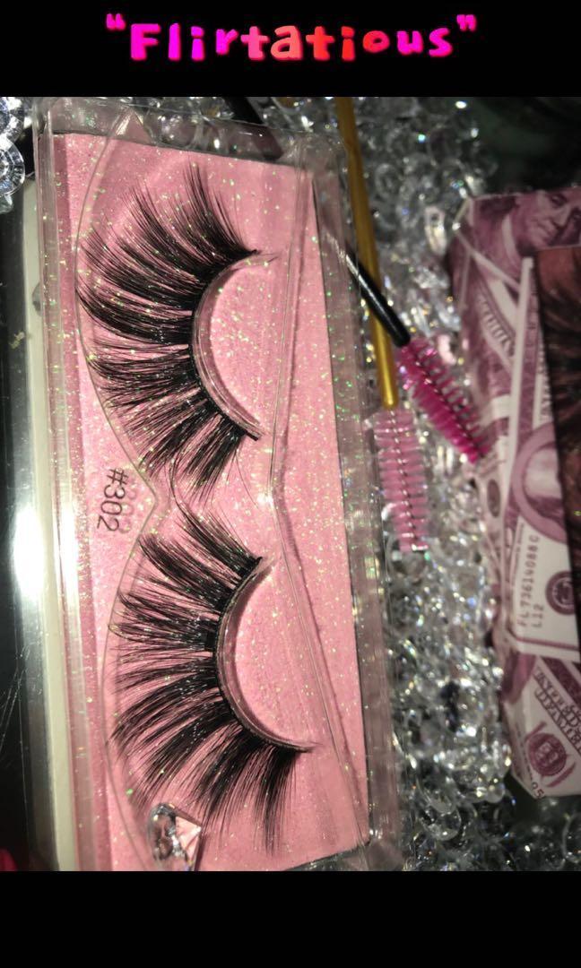 3D Mink Eyelashes 16mm