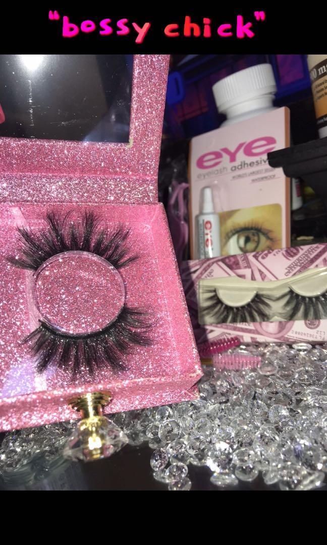 3D Mink Eyelashes 25mm