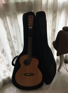 aNueNue 彩虹人 L10E 41吋 電木吉他 含原廠琴袋 保存良好 聲音柔暖 *原價13000
