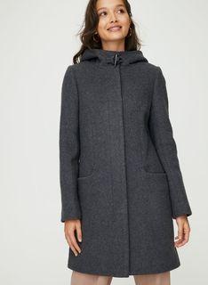 Aritzia Babaton Pearce Charcoal Wool Coat XXS