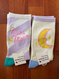 Cute long socks!