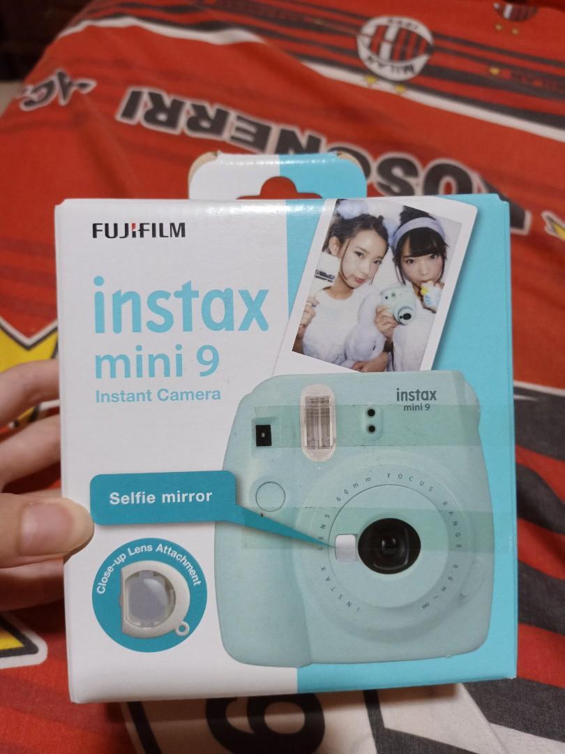 Fujifilm Instax Mini 9 Ice Blue Preloved