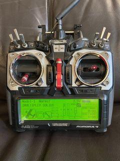 Hitec Aurora 9 transmitter