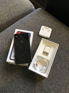 IPHONE x 64G 黑