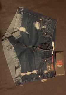 Jean Shorts - Blue
