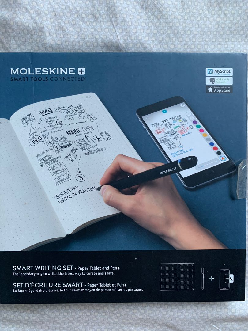 Moleskine Smart Writing Set Computers Tech Office Business Technology On Carousell