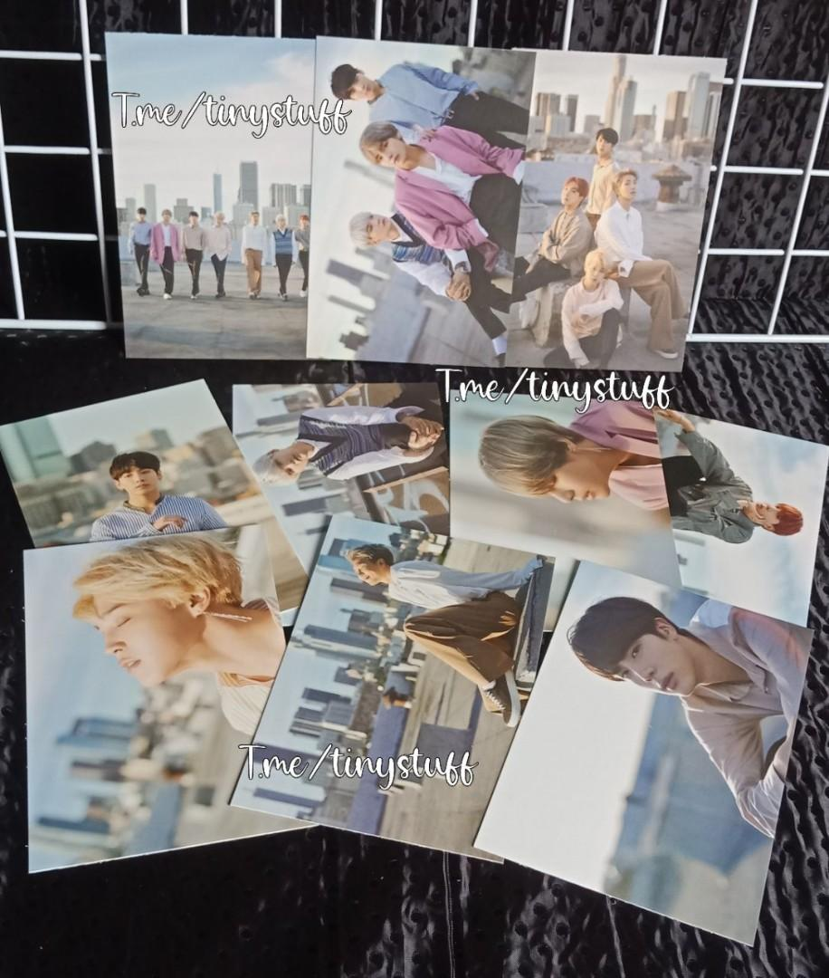 Official BTS D-Icon Magazine Postcard & Photocard (set) Very good condition, No damage, and Freshly unsealed.