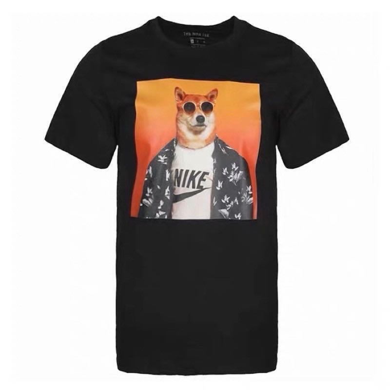 cobertura Cariñoso emulsión  PO] Nike Shiba Inu x The Menswear Dog Tee, Men's Fashion, Clothes, Tops on  Carousell