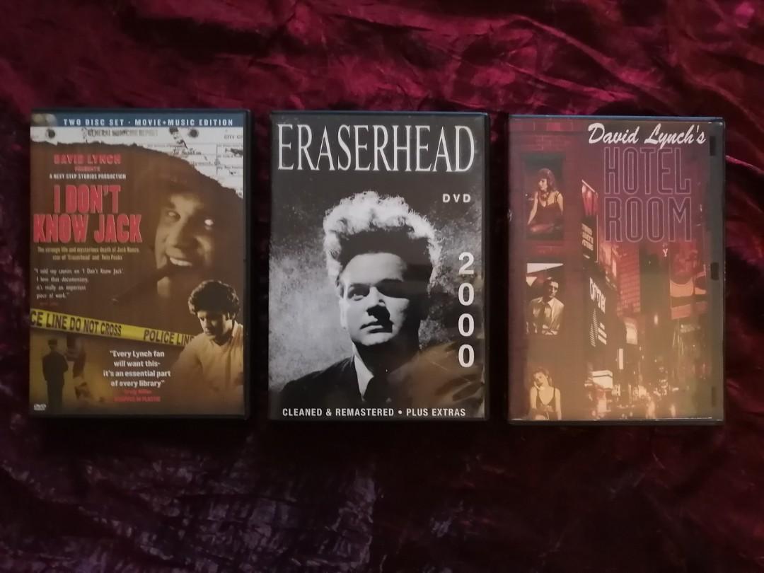 RARE David Lynch Dvds