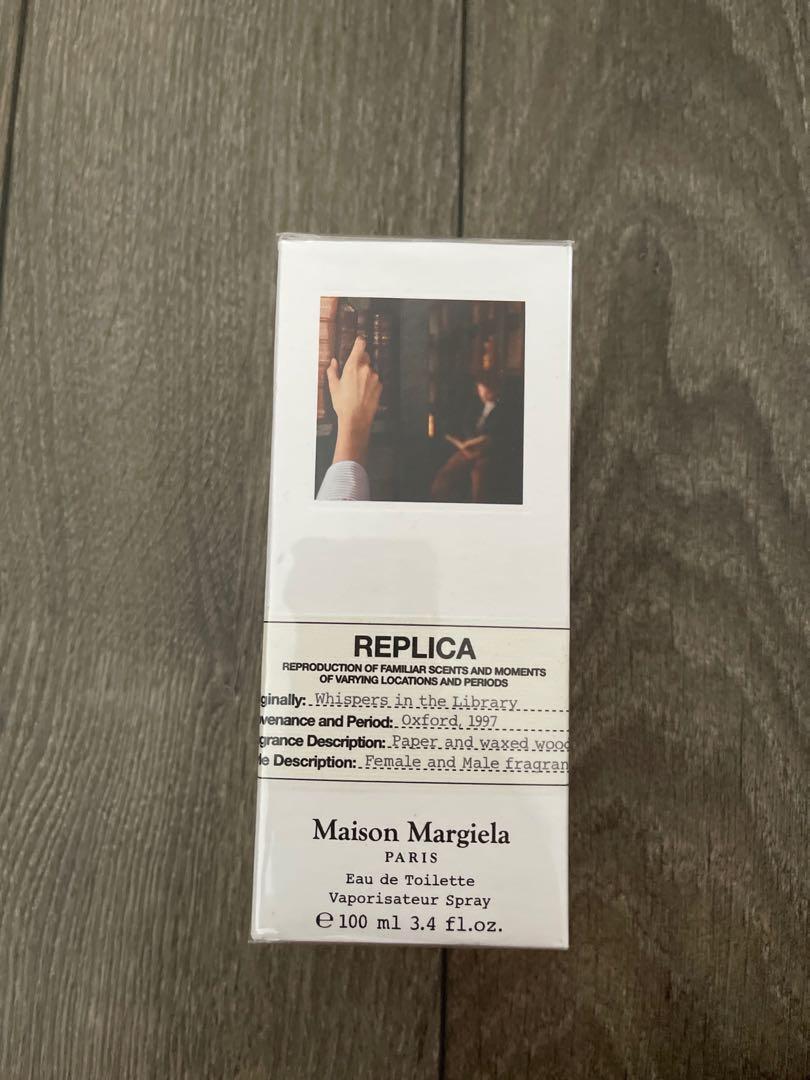 Replica whisper in the library