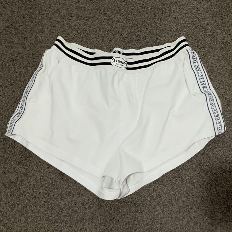 Stussy White Shorts