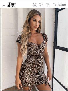 Tiger Mist Toronto Dress Leopard