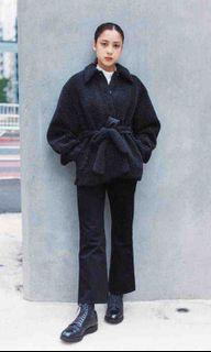UNIQLO U pile lined fleece short coat