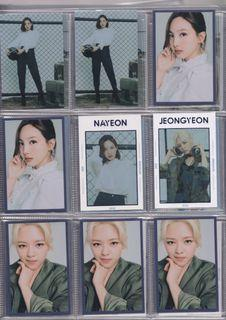 [WTS]: Twice World in a Day Trading Cards