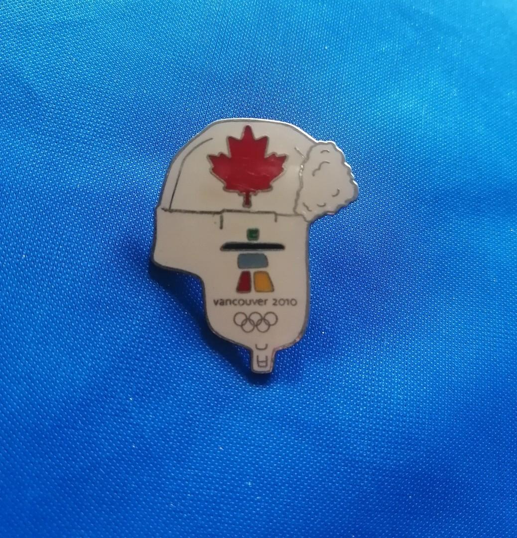 2010 Vancouver Olympics pin
