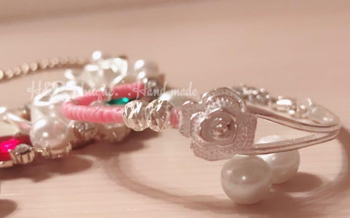 925純銀玫瑰半環手鍊🌹