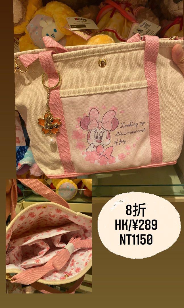 香港迪士尼米妮手提袋