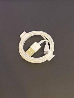 Apple充電線(Lightning+USB) IPhone (1公尺)
