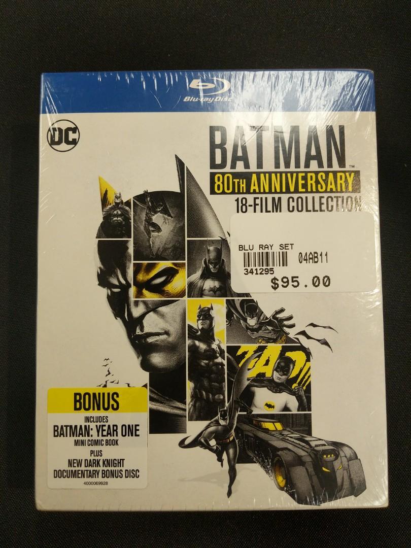 Blu-Ray Batman 80th Anniversary 18-Film Collection