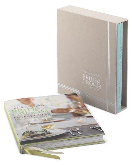 BNIB Willams-Sonoma Bride-Groom Cookbook Set