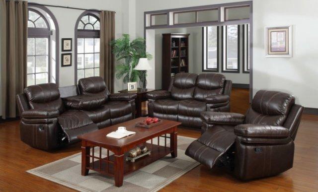 Brand new 3pcs comfort Recliner Sofa Set