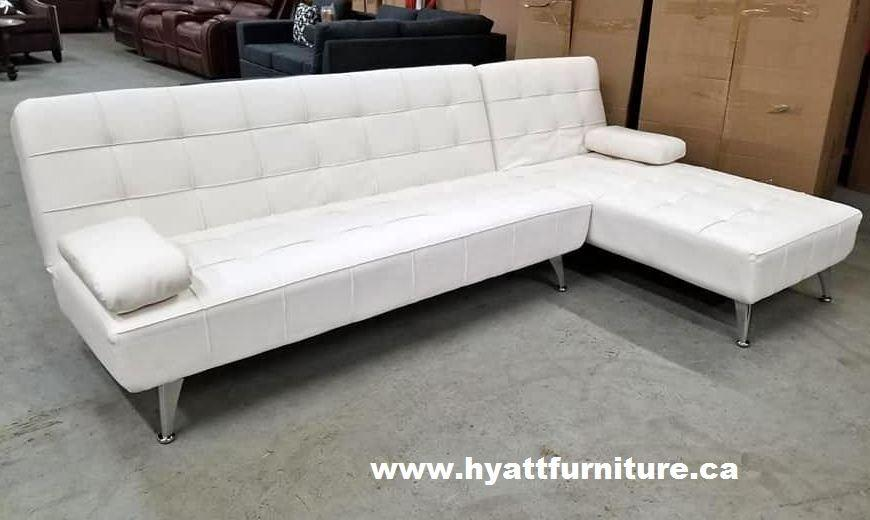 Brand new Modern  Leatherette Sectional sofa  Bed