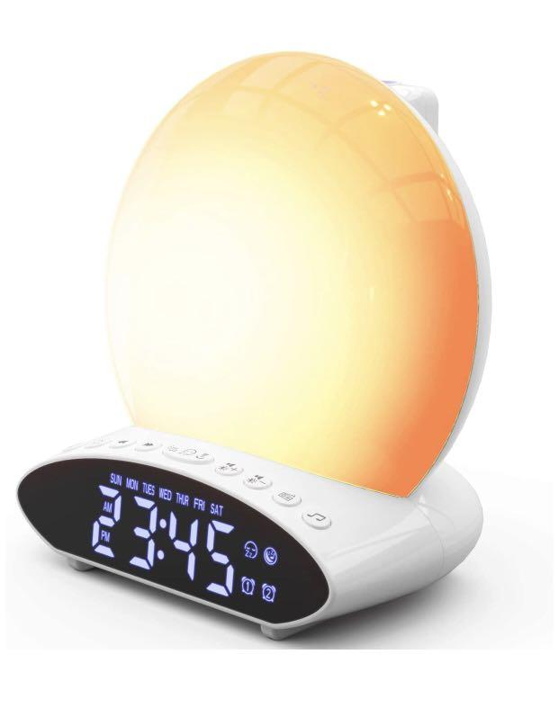 Brand new Wake Up Light Alarm Clock Plus Projection
