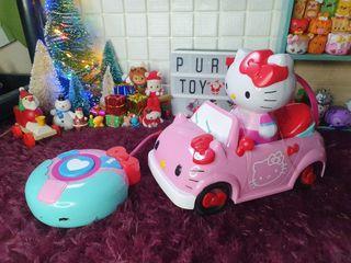 Hello kitty remote controlled car sanrio hk