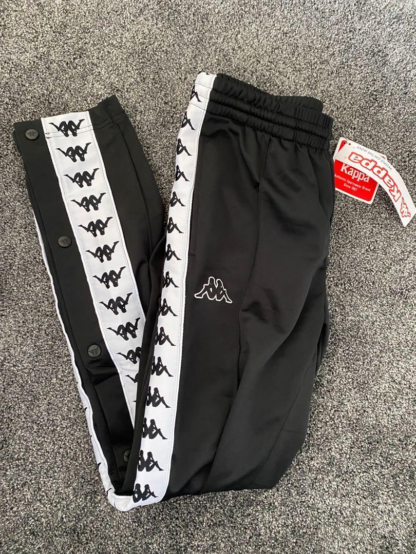 Kappa pants with snaps
