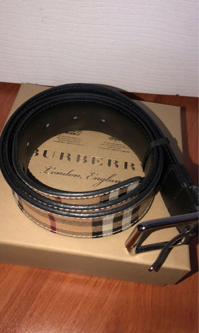 Men's Burberry Belt - Authentic / 85 (34)