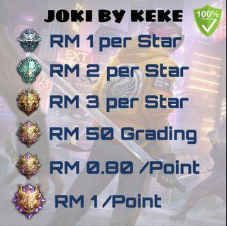 Mobile Legends Boost Rank Video Games Carousell Malaysia