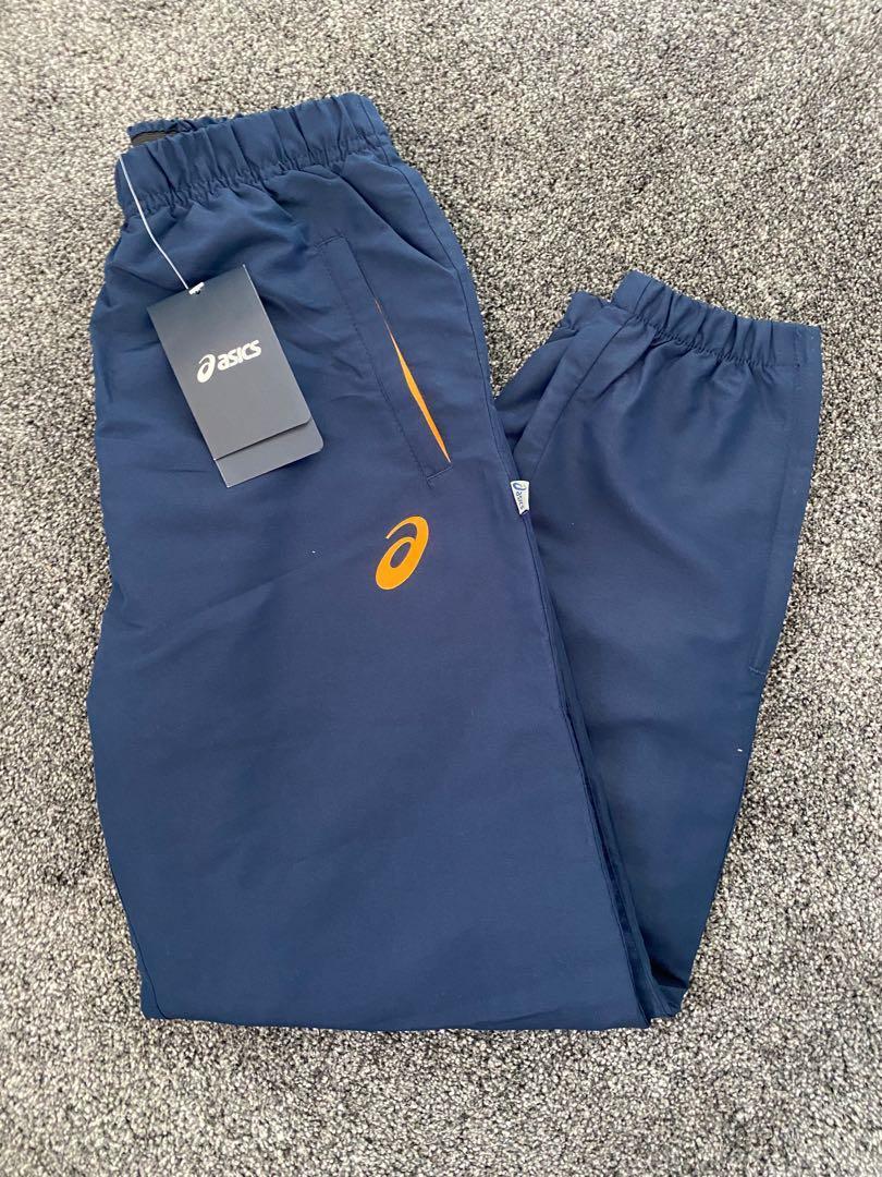 Navy Asics Track-pants