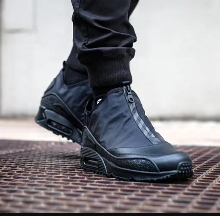 Nike Air Max 90 Utility 'Triple Black', Men's Fashion, Footwear ...