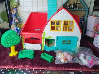 Piny pon farm house set