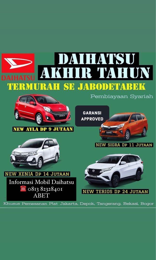 PROMO AKHIR TAHUN Daihatsu Xenia DP mulai 14 jutaan. Daihatsu Fatmawati