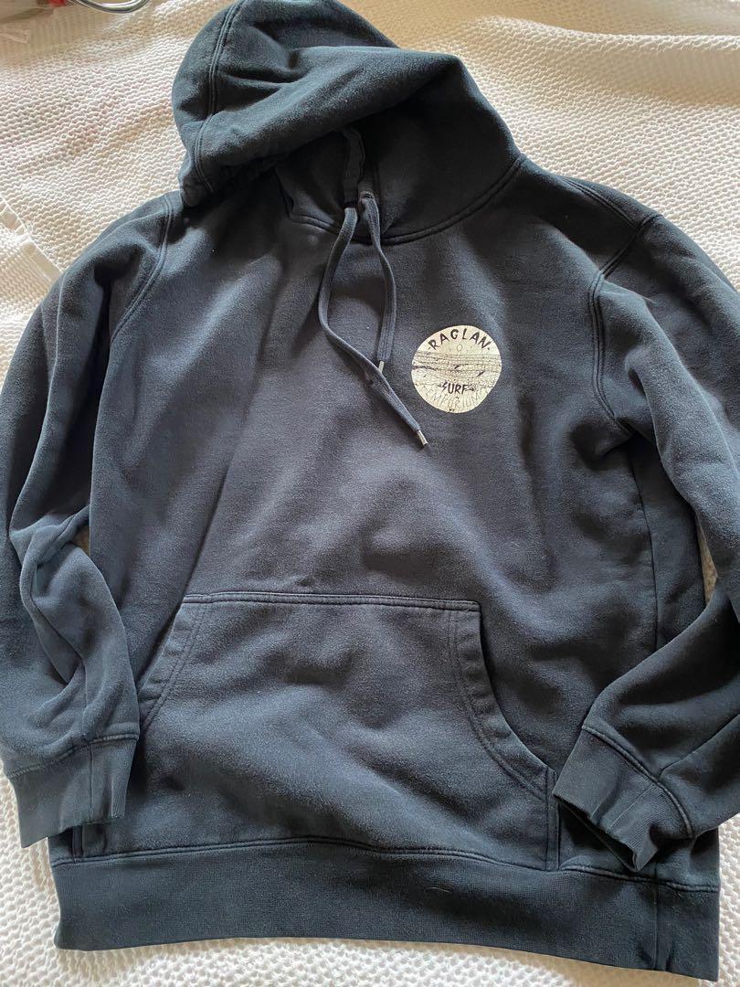 Raglan navy hoodie