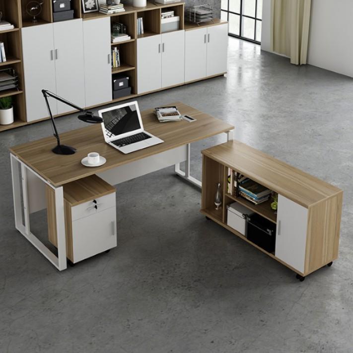 Simple Modern Industrial Office Desk, Industrial Office Furniture