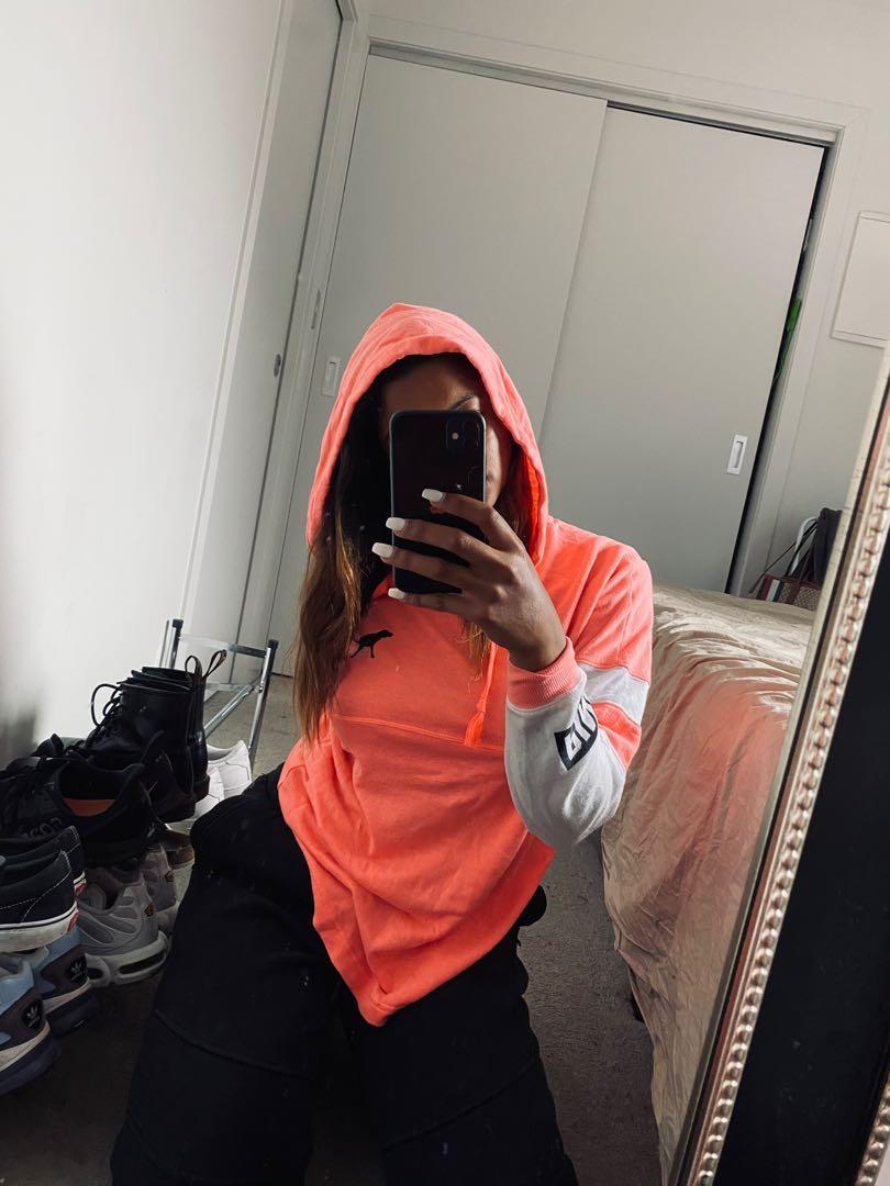 victoria secret pink hoodie