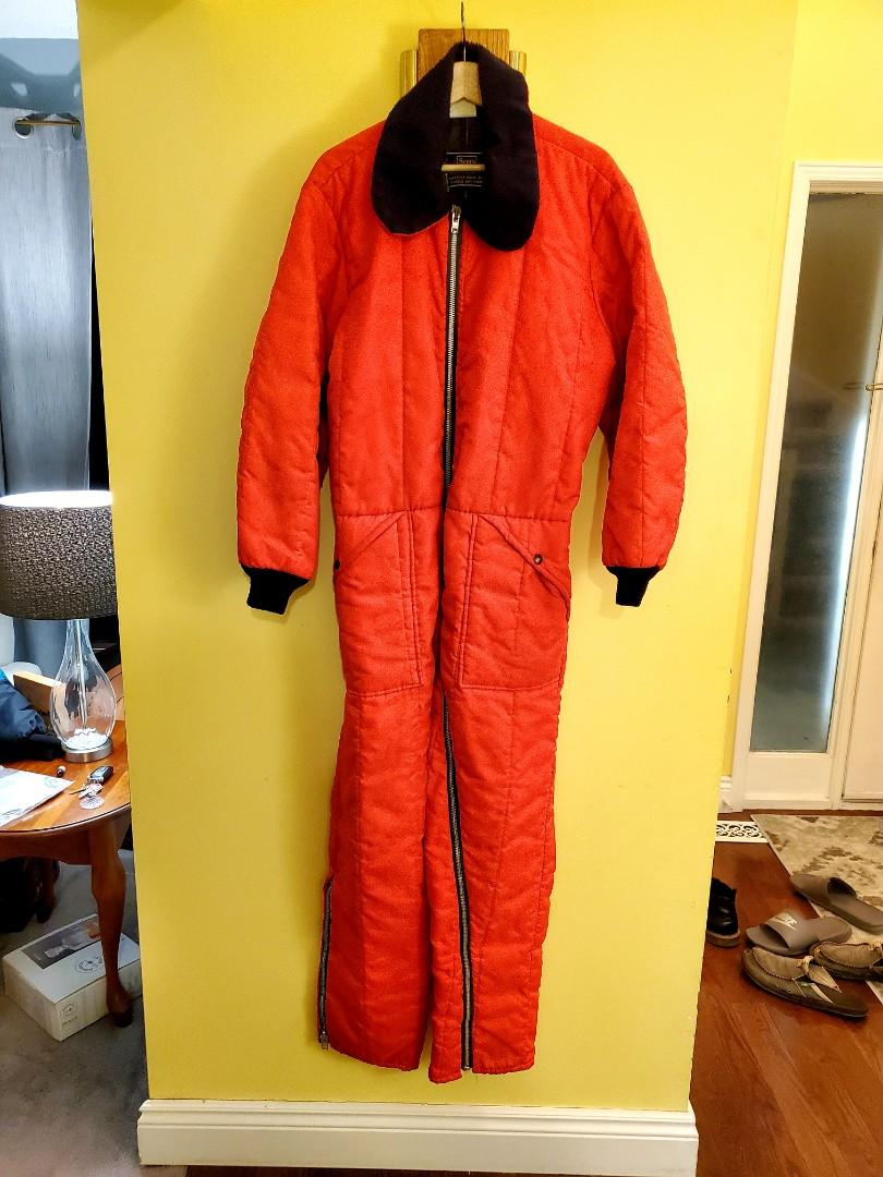 Vintage 70's Sears Workin Leisure One - Piece Snow Suit
