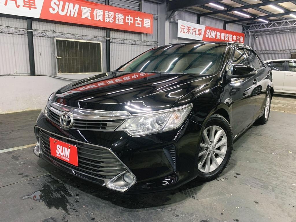 正2015年 Toyota Camry 2.0 豪華款 實車實價39.8萬