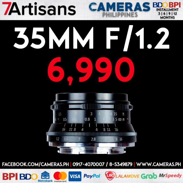 7artisans Photoelectric 35mm f/1.2 Lens | Credit Card | Installment | Cash | Cameras Philippines