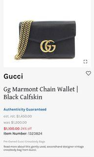 💯 GUCCI GG MARMONT WOC