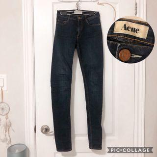 Acne studios flex s jeans, true blue size 24 [skinny jeans]
