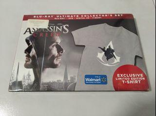 Assassins Creed Bluray With TShirt
