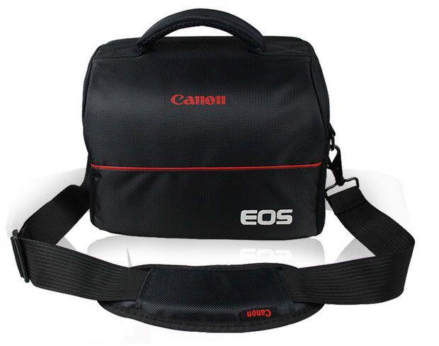 Black camera bag bag